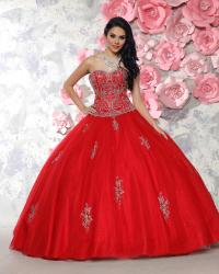 Red Quinceanera Dresses | red and zebra print ball gown ...