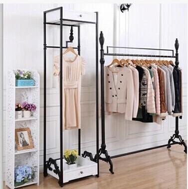 Hierro-ropa-perchero-bastidores-exhibición-de-la-tienda-para-ropa - creer plan de maison