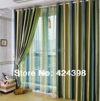 Aliexpress.com : Buy Morden Luxury stripe curtain For