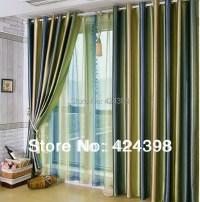 Aliexpress.com : Buy Morden Luxury stripe curtain For ...