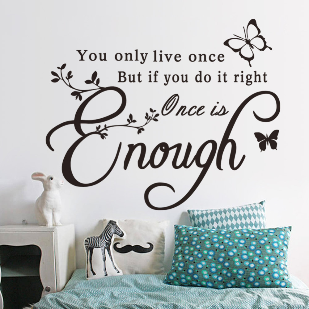 creative quotes butterfly wall sticker inspirational wall hope inspirational wall stickers quotes art decals