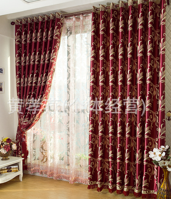Red and cream curtains for living room ~ Decorate the house with - red curtains for living room