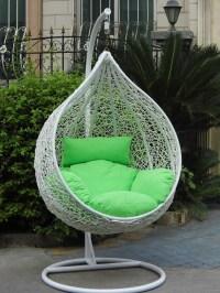 Outdoor indoor rattan hanging basket hanging chair bird