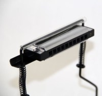 New Chromatic Harmonica Holder For Buskers Mouth Organ ...
