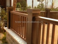 Wholesale wooden balcony railings balcony rail design new