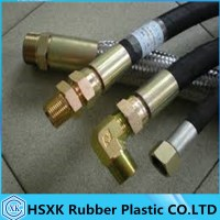 Hydraulic Steel Wire Braided Hydraulic Hose With Hose ...