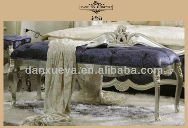 Elegant Princess High Head Luxury Leather Bed Room Set