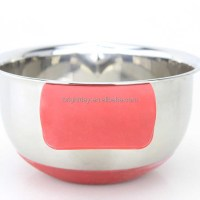 Amazon Supplier Silicone Handle And Bottom Bowls Stainless ...