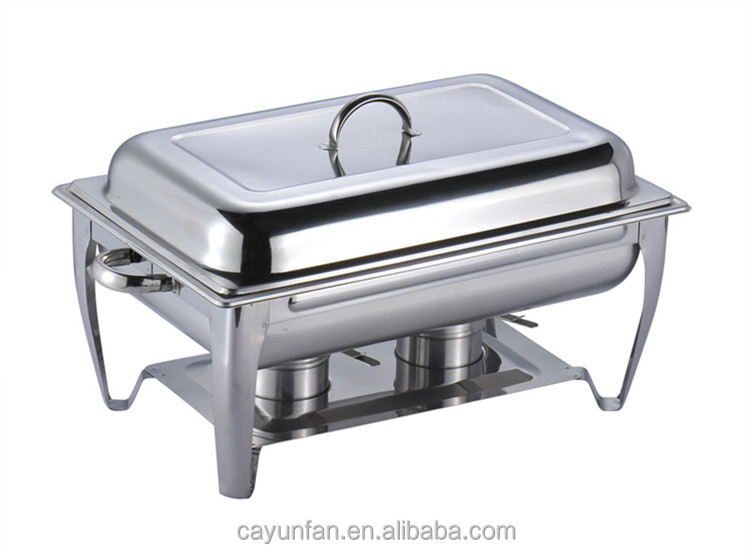 9 Liter Capacity Stainless Steel Chaffing Dish Warming