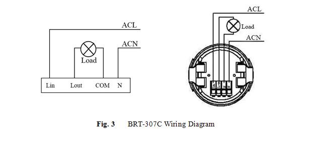 pir motion sensor occupancy switch schema cablage
