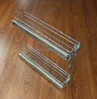Kitchen Cabinet Drawer Kitchen Pull Out Basket Organizer ...