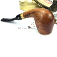 Tobacco Wooden Pipes Wholesale Cheap Smoking Pipe Red Gift ...