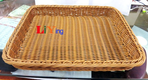 2019 Wicker Storage Baskets Picnic Basket Zakka Wire
