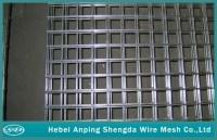 Galvanized welded wire mesh Deck Railing