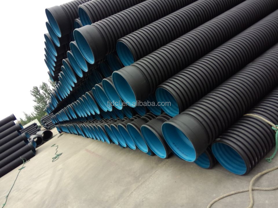 """Hdpe 10 Inch 2"""" Corrugated Drainage Pipe/hdpe Pipe Prices"""