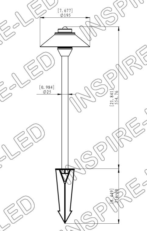 light landscape 12v ac wiring