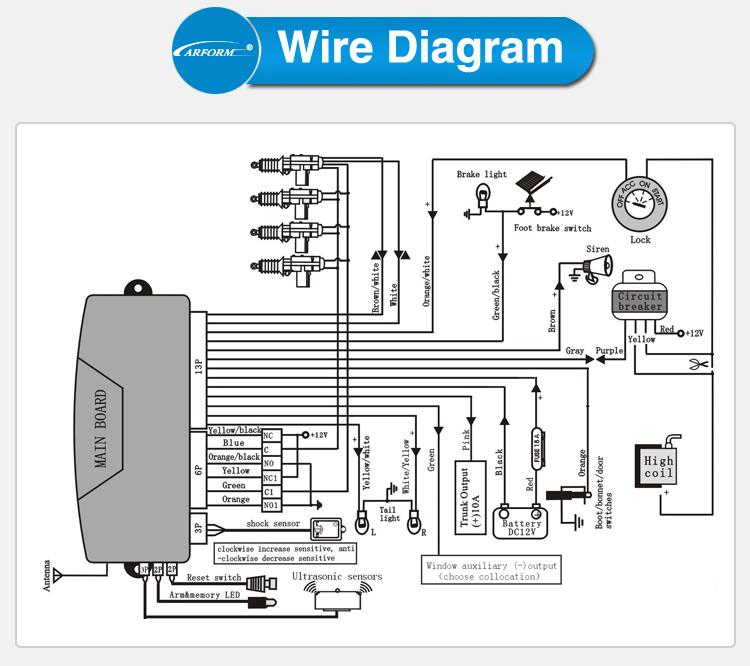 eaglemaster car alarm wiring diagram