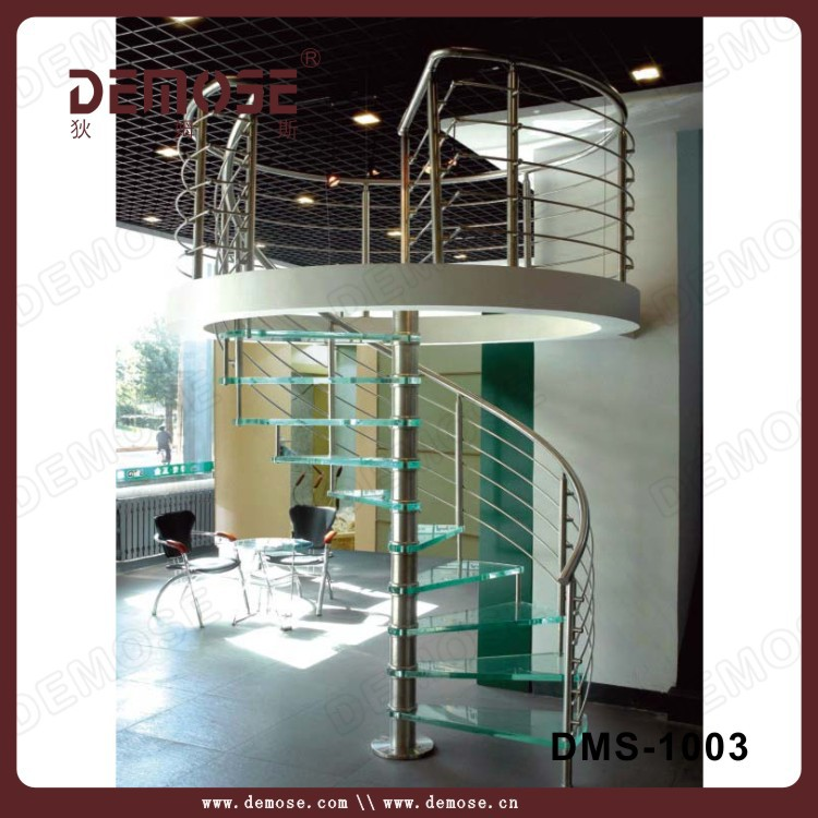 Outdoor Stair Rail Used Spiral Staircase Glass Stairs