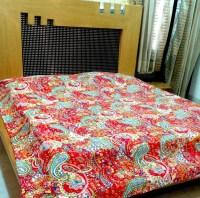 Cotton Bedspreads Hand Block Printed Multi Color - Buy ...