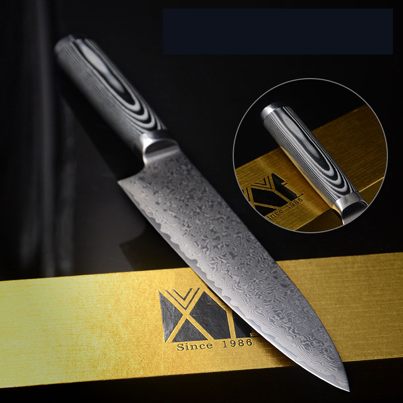 knife high professional kitchen knife kitchen knives home high quality kitchen knife cleaver titanium golden stainless steel