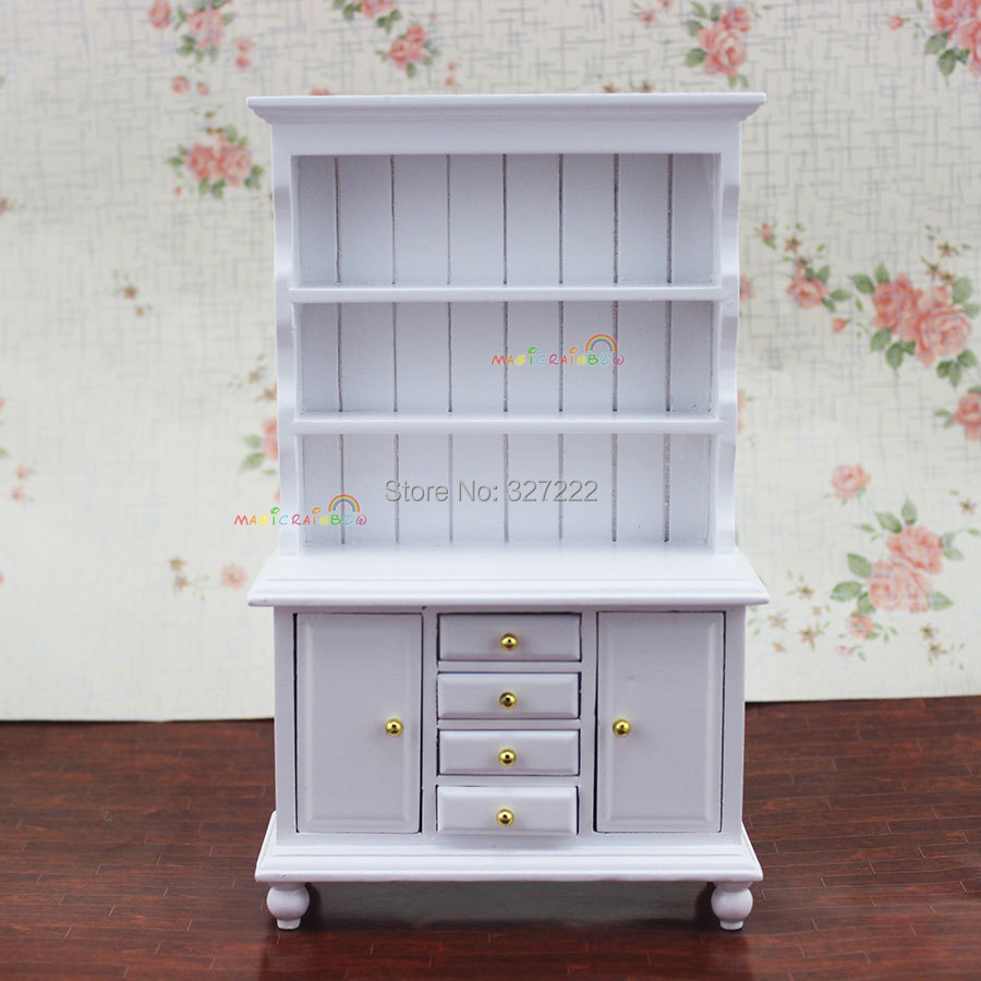 furniture show cabinet kitchen dining room bedroom cupboard doll house kitchen mahogany cupboard cabinet dollhouse furniture