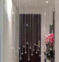 2016 New Pure handmade Clear crystal bead curtain home ...