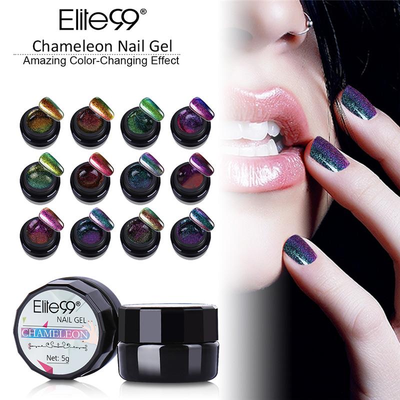 Aliexpresscom Buy Elite99 All 12pcs Chameleon Color Gel