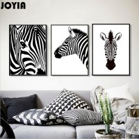 Black and White Zebra Painting Promotion