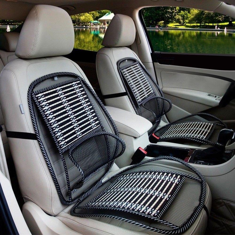2016 Summer New Black Mesh Lumbar Back Brace Car Seat