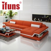 IFUNS chaise sofa set living home furniture modern design ...