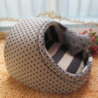 Cute Slipper Design Small Dogs House Princess Dog Bed Dog ...