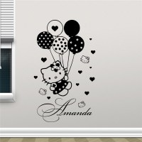 Popular Hello Kitty Wall Decal-Buy Cheap Hello Kitty Wall ...