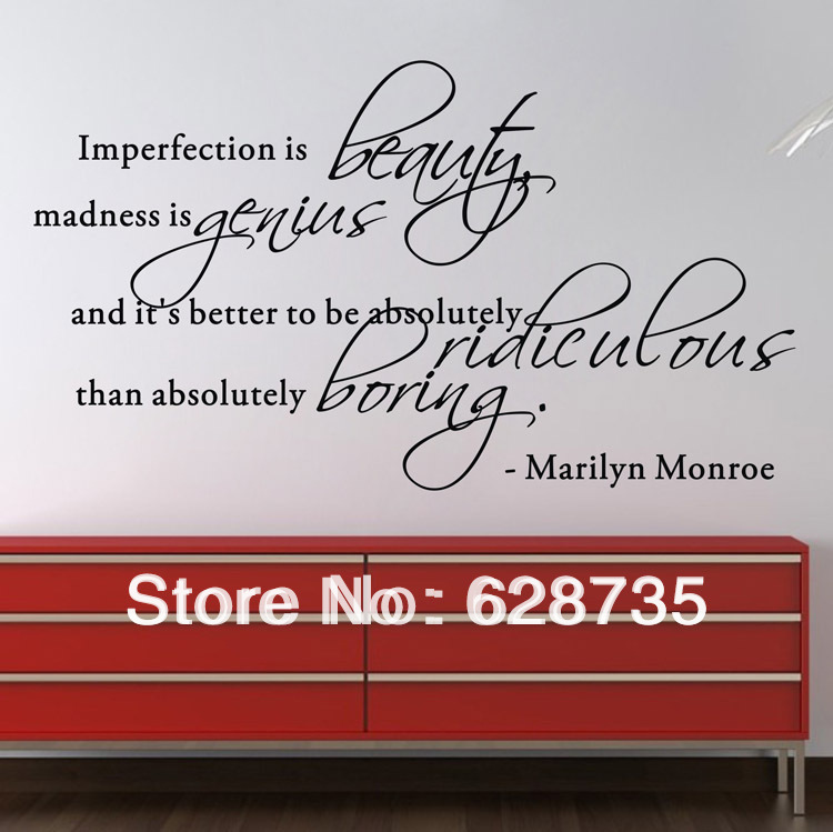 marilyn monroe famous vinyl wall stickers home decor monroe marilyn monroe wall sticker bright blue pig