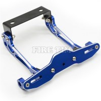 3 colors CNC Universal Motorcycle License Plate Holder ...