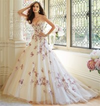 Online Get Cheap Purple White Wedding Dress