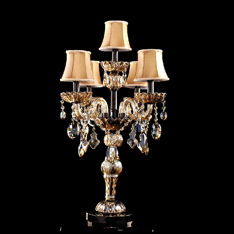 modern table lamps for bedroom crystal table lamp with