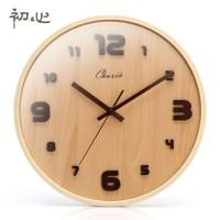 Wohnzimmer Uhren Holz ~ Raum und Mbeldesign Inspiration