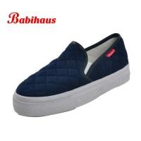 Babihaus-Fashion-Ladies-Plaid-Canvas-Shoes-Women-Brand ...