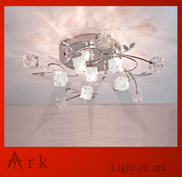 ark light Free shipping Romantic Crystal ceiling light