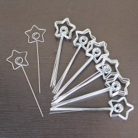 lot 50pcs DIY star shape craft wire place card&picture