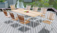 Cheap Patio furniture Outdoor Plastic wood dining Table ...