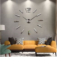 2016 new home decor large wall clock modern design living ...