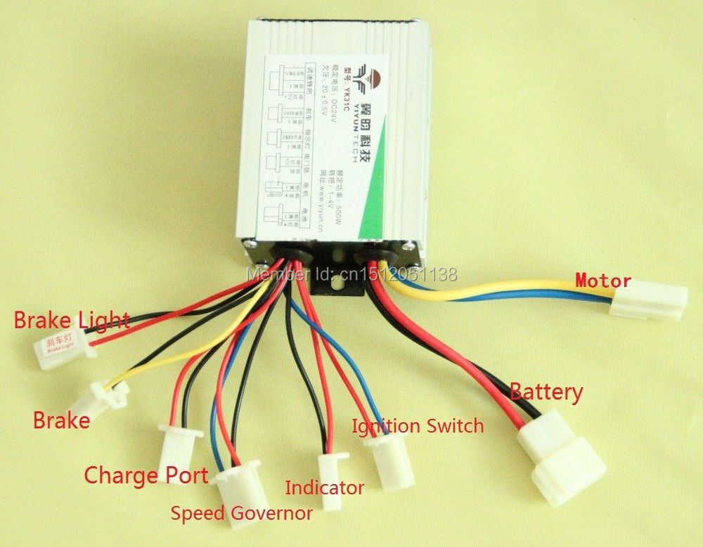 36v Electric Scooter Controller Diagram Index listing of wiring