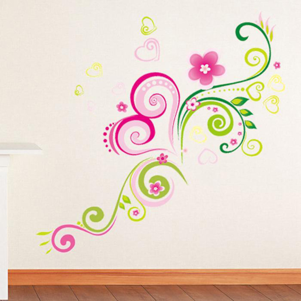 diy wall mural decal wall stickers flowers home office wall sticker home store office decor excellence office decor wall sticker