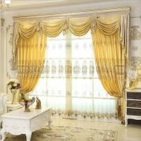 Aliexpress.com : Buy Set Luxurious jacquard curtains for ...