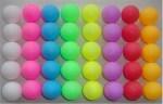 Different Color Tennis Balls