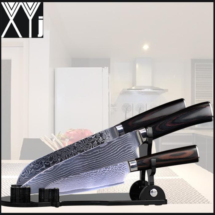 xyj brand damascus knives aus damascus steel kitchen knives santoku kitchen knife brands buy kitchen knife brands product alibaba