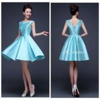 vestido de madrinhas 2016 ice blue bridesmaid dresses ...