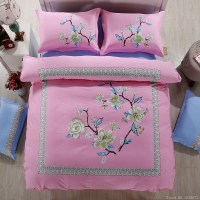 Purple oriental bedding asian country style bedding queen ...