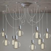Modern chandelier Lighting 10 arms Adjustable Spider ...